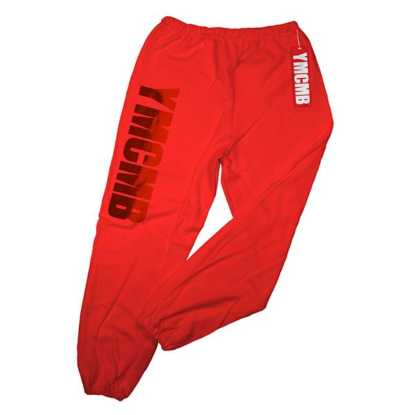 YMCMB - Red on Red - Sweatpants