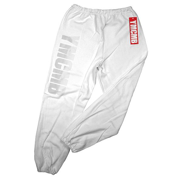 YMCMB - White on White - Sweatpants