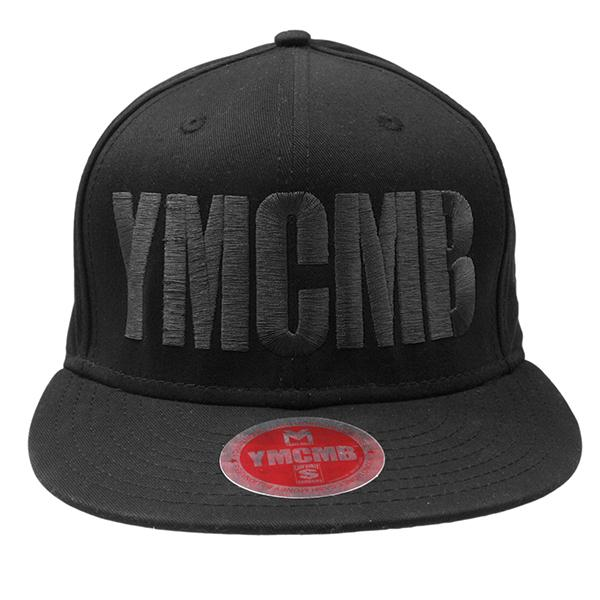 YMCMB - Black on Black Snap Back - Hats