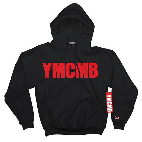YMCMB - Pullover Red on Black - Sweatshirts