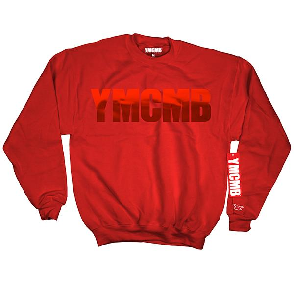 YMCMB - Crew Red on Red - Sweatshirts