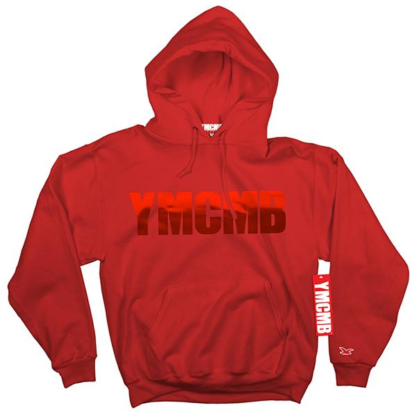 YMCMB - Pullover Red on Red - Sweatshirts