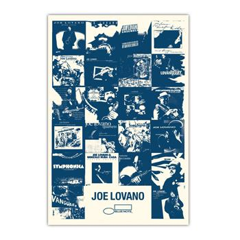 Joe Lovano - Hand Screened Poster - Posters