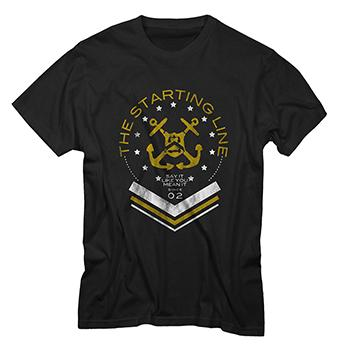 The Starting Line - Anchor - T-shirts