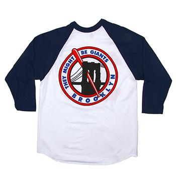 They Might Be Giants - TMBG Baseball 3/4 Sleeve on White - T-shirts