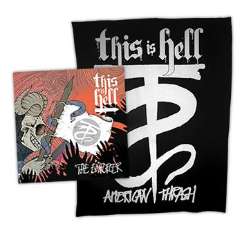 This Is Hell - 7inch Vinyl + Back Patch Bundle - Vinyl