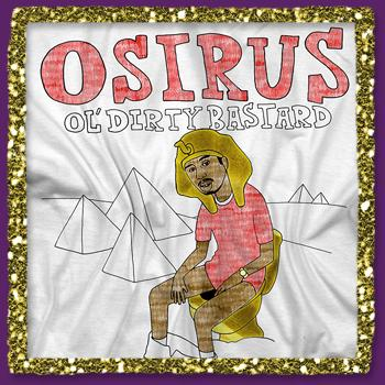 Ol Dirty - Osiris Taking A Shit Foil on White - T-shirts