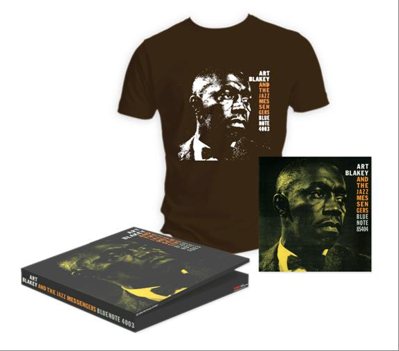 Art Blakey And The Jazz Messengers - Vinyl + T Box - T-shirts
