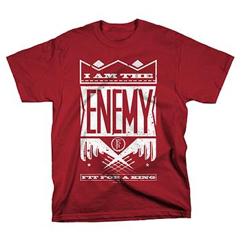 Fit For A King - ENEMY T-SHIRT - T-shirts