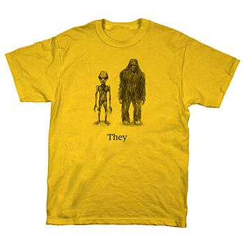 They Might Be Giants - Cryptid - T-shirts
