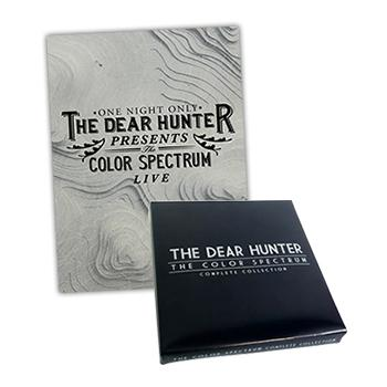 The Dear Hunter - Color Spectrum DVD / CD Box Set Bundle - CDs