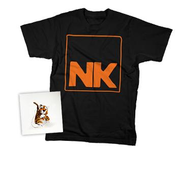 NK - CD + T-Shirt + Digital Download - CDs