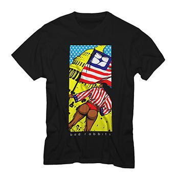 Bad Rabbits - American Love Tour Shirt - T-shirts
