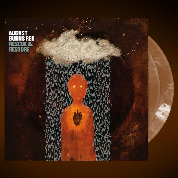August Burns Red - Rescue & Restore Gold/White Swirl Vinyl - Vinyl