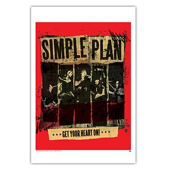 Simple Plan - Live Band Poster - Posters