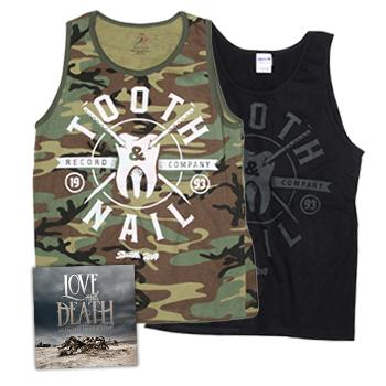 Tooth and Nail - Love & Death + Camo + Crest Tank - Deals of the Month