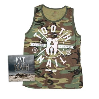Tooth and Nail - Love & Death + Camo Tank - Deals of the Month