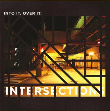 Into It. Over It. - Intersections Orange w/ Black Spash Vinyl - Vinyl