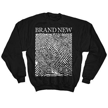 Brand New - Fingerprint Crew Neck - Sweatshirts