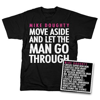 Mike Doughty - Circles CD + T Shirt bundle - Combos