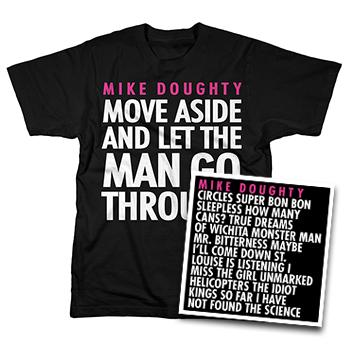 Mike Doughty - Circles Vinyl + T Shirt Bundle - Combos