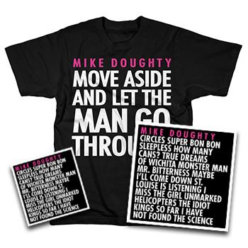 Mike Doughty - Circles CD + Vinyl + T Shirt - Combos
