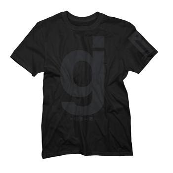 Glassjaw - GJ Black on Black - T-shirts