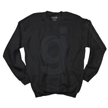 Glassjaw - GJ Crew Black on Black - Sweatshirts