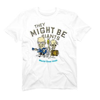 They Might Be Giant 2040 Tour t-shirt