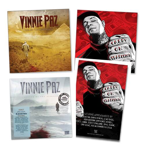 Jedi Mind Tricks - Vinnie Paz Vinyl Bundle - Vinyl