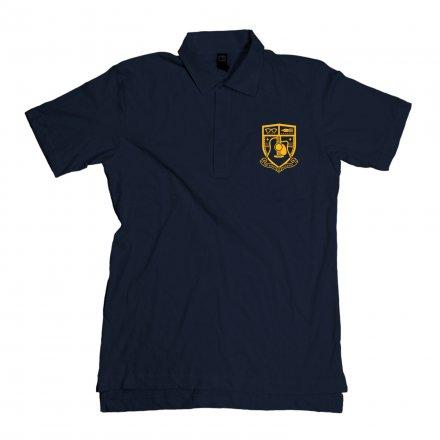 Mike Doughty - Coat of Arms Navy Polo - T-shirts