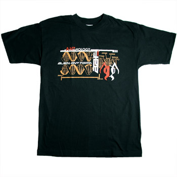 AAF - DNA on Black - T-shirts