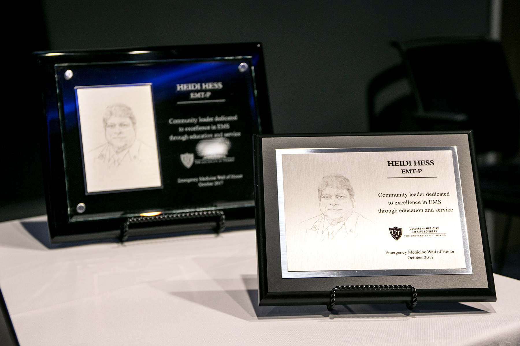 Image of Plaque from Induction Ceremony