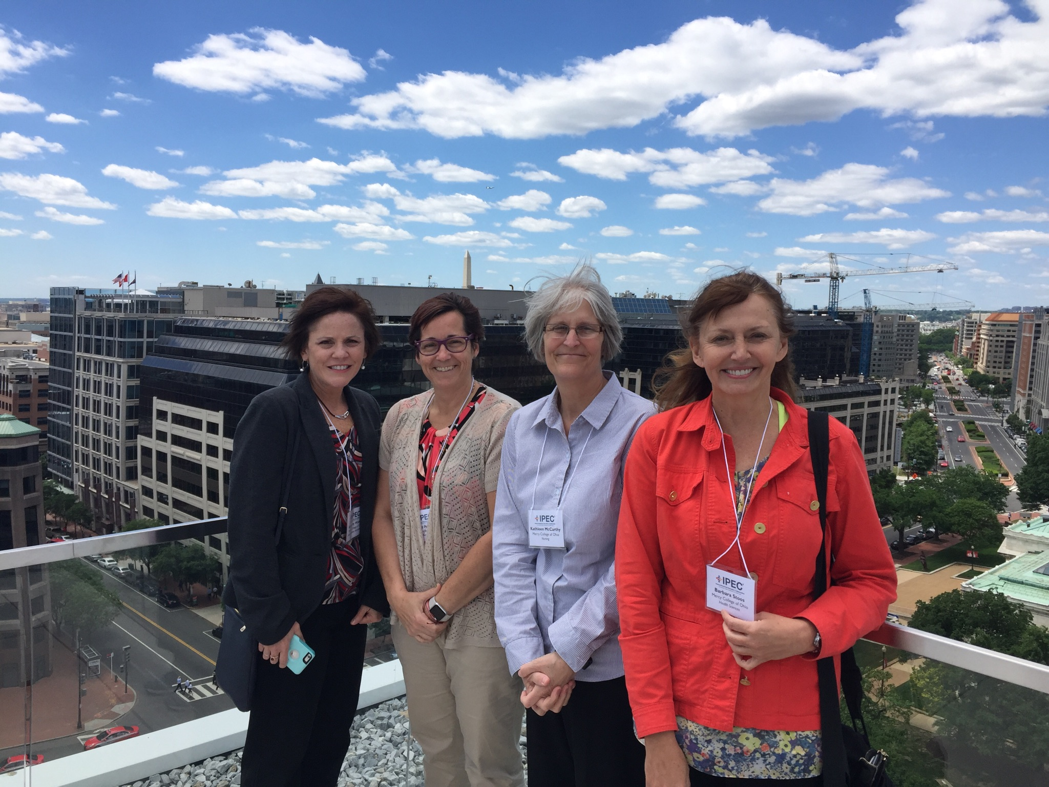 Joely Austin, Kathleen McCarthy, Kimberly Watson and Barbara Stoos at IPE Collaborative Institute
