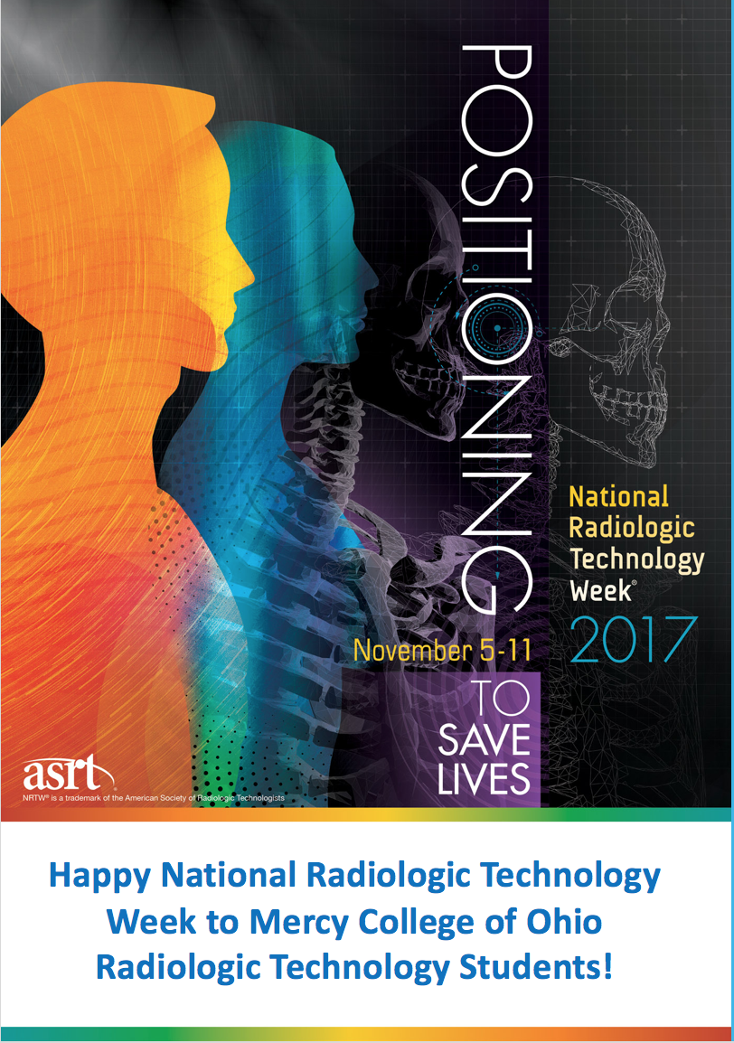 Image of National Radiologic Technologists Week 2017 Logo