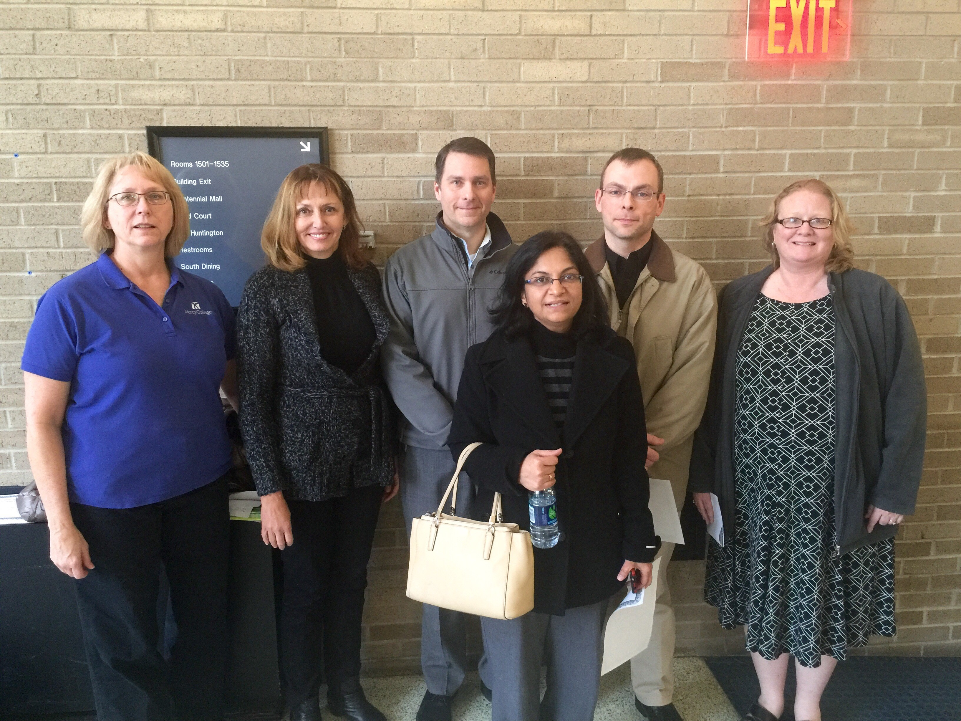 Faculty members at Northwest District Science Day