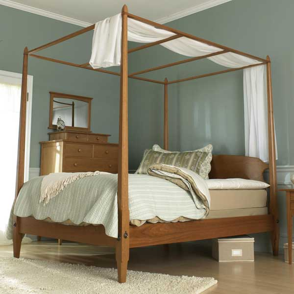 Shaker-Style Pencil Post Bedroom Super Bundle