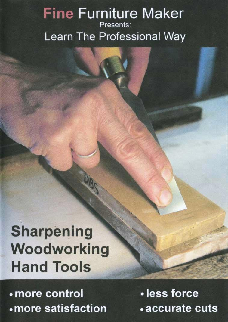 Sharpening Hand Tools Woodworking Plan, Tool Videos