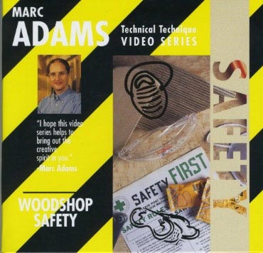 Marc Adams - Woodshop Safety Woodworking Plan, Techniques Videos