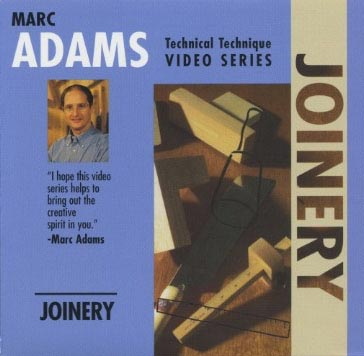 Marc Adams: Joinery - DVD Video