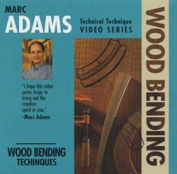 Marc Adams: Wood Bending Techniques - Video DVD