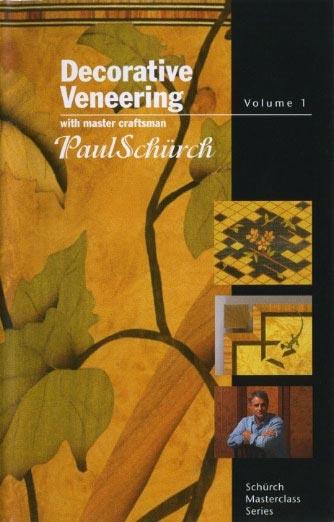 Paul Schurch - Decorative Veneering Woodworking Plan, Techniques Videos