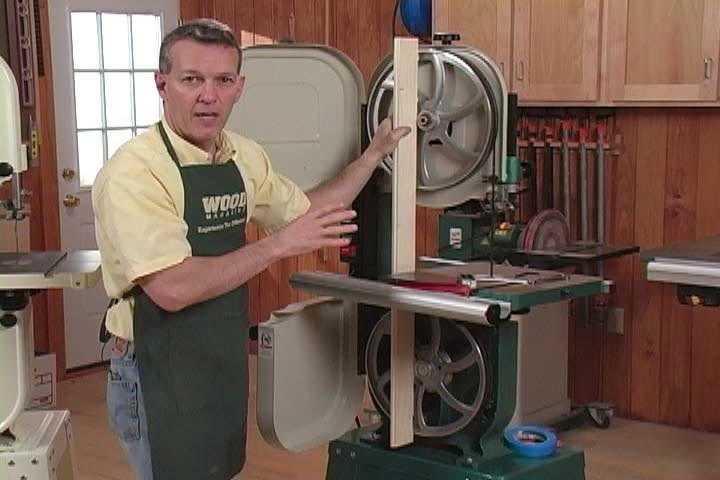 Bandsaw Tuneup Woodworking Plan, Tool Videos