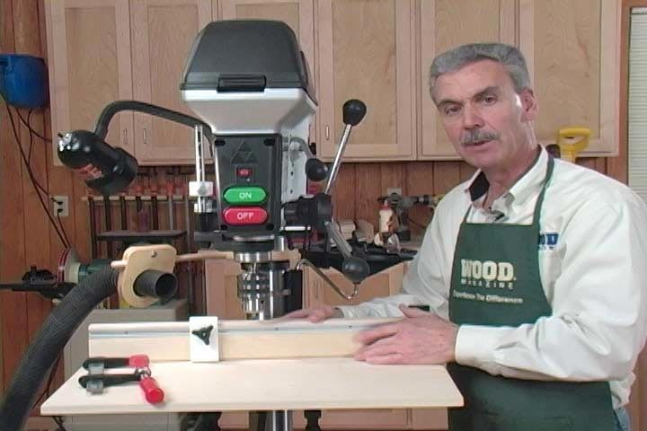 Drill Press Tips and Techniques Woodworking Plan, Techniques Videos