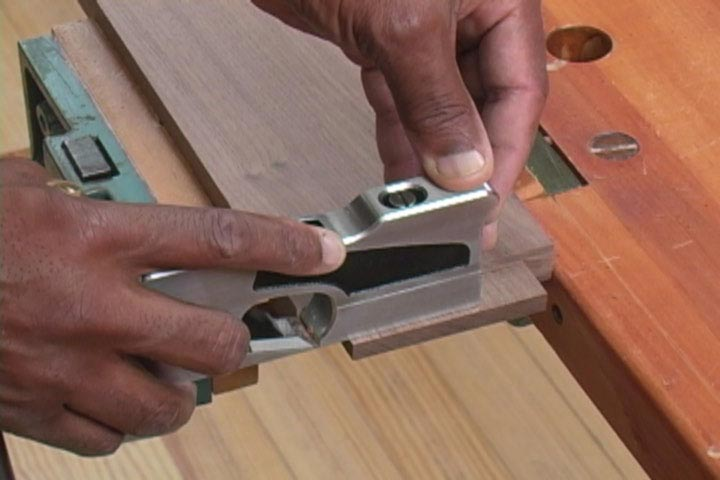 Shoulder Plane Techniques Woodworking Plan, Tool Videos