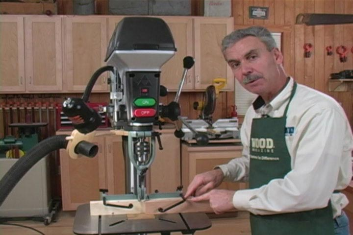 Trick Out Your Drill Press Woodworking Plan, Tool Videos
