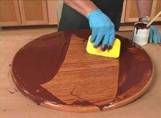 Smooth Filled-Pore Finish Woodworking Plan, Techniques Videos