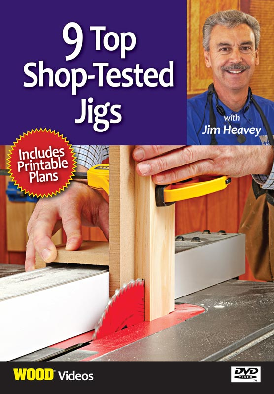 9 Shop-Tested Jigs - Video DVD