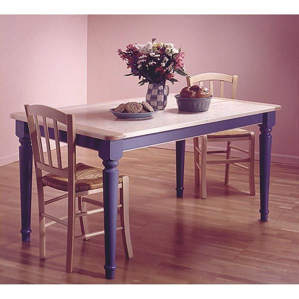 Country-Style Table Woodworking Plan, Furniture Tables