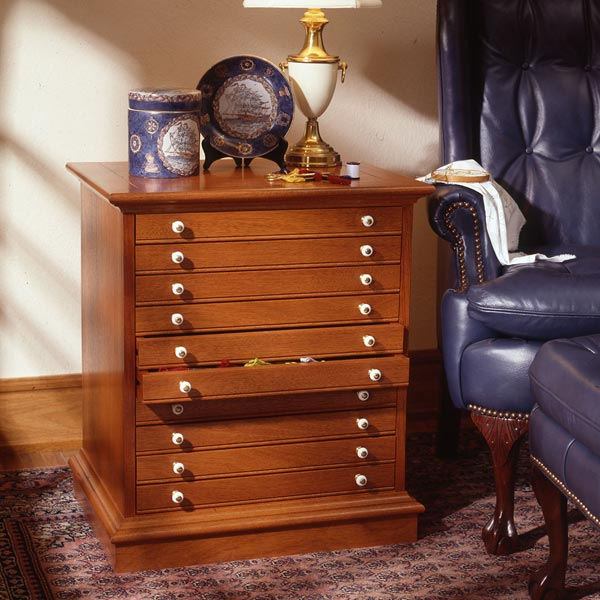 Collector's Cabinet Woodworking Plan, Furniture Cabinets & Storage